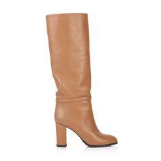 KACHOROVSKA / brown leather boots