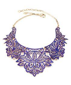 Purple Athena Necklace on ~ SALE $27.99 http://www.zulily.com/invite/salemebrands
