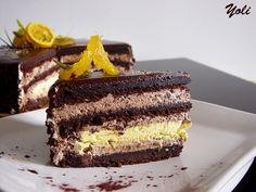 Delicious with Jolien: Cake Riviera (Chocolate Lemon Cake)