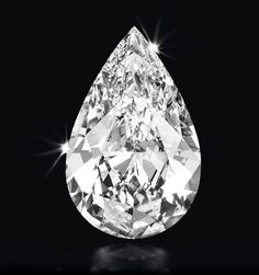 A Pear-shaped D-Color Flawless Diamond of 50.52 cts.