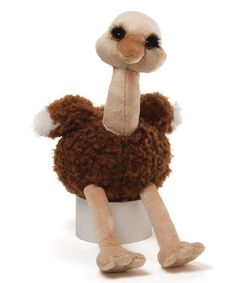 Look at this 16'' Obie Ostrich Plush on #zulily today!