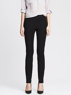 I have these pants and I struggle to find flattering tops to wear with them.