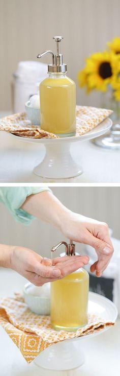 DIY Homemade Honey Face Wash