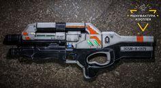 Cerberus Harrier Assault Rifle cosplay от CosplayManufactory