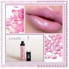 Younique lucrative lipgloss, comes in different colours! Color used in photo: Loveable www.youniqueproducts.com/lisaljackson