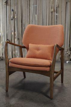 Nothing says October like this beautiful orange Helsinki chair.