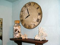 Vintage Style Clock For The Bathroom