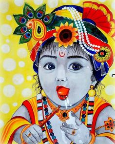 Little Krishna, Cute Krishna, Krishna Radha, Lord Krishna, Krishna Pictures, Krishna Images, Krishna Bhagwan, Iskcon Krishna, Indian Art Gallery