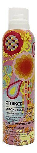 Amika Obliphica Un.Done Texture Spray Ounce Texturizing Spray, Body Care, Hair Sprays, Shampoo, How To Get, Cosmetics, Texture, Bottle, Dress Skirt