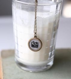 Through My Lens - Hand-Embroidered Necklace by Poppy and Fern on Scoutmob Shoppe