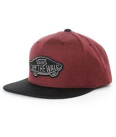 5387b087767 Vans Classic Patch Snapback Hat Vans Off The Wall
