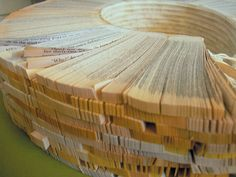 Book Sculptures by Ann Hamilton