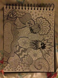 Finished sleepy doodle