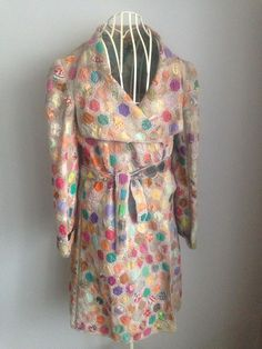 Blank Of London Vintage Style Patchwork Coat   | eBay