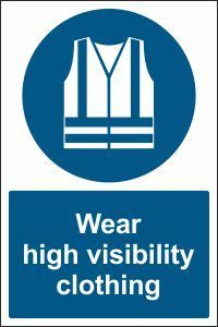 Cheap Caledonia Signs High Visibility Jackets Must be Worn English/Polish Sign Self Adhesive Vinyl 200 mm x 150 mm deals week Health And Safety Poster, Safety Posters, Construction Signs, Signwriting, Workplace Safety, Shop Signs, Adhesive Vinyl, Self, Dungarees