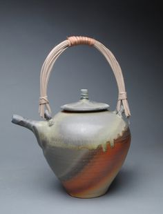 Clay Teapot Wood Fired P9 by JohnMcCoyPottery on Etsy. www.etsy.com/shop/JohnMcCoyPottery SALE!