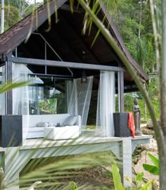 Oxygen Jungle Villas, Uvita de Osa, Costa Rica. Twelve bungalows, couples only. 40 minute drive south to Corcovado National Park, one of the most biodiverse landscape in the world.