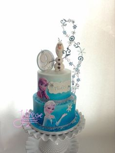 Frozen - Cake by Jolirose Cake Shop