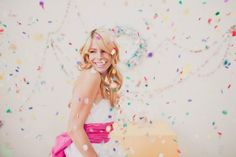 Confetti makes all things better :)