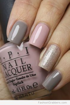 | Awesome winter palette for nail art |