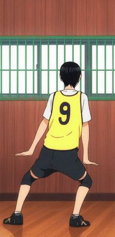 Behind the scenes  Kageyama