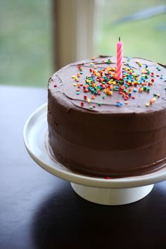 Edible Moments: Classic Birthday Cake