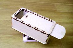 Коробка-пенал из высококачественной фанеры.