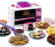 Easy bake oven. This complete set would of been a dream come true