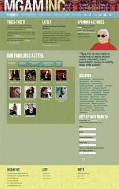 Website for mgam.com