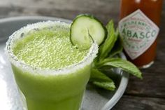10 Margarita and Daiquiri Recipes You Won't Forget Anytime Soon: Spicy Cucumber Mint Margarita