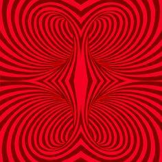 Trip vermelho  - 15,4 x 15,4 - designer Carine Canavesi. Vendidos em caixa com 50 unidades, cobrem pouco mais de 1 metro2.