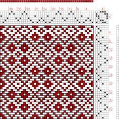Hand Weaving Draft: Page 311, Figure 5, Orimono soshiki hen [Textile System], Yoshida, Kiju, 6S, 6T - Handweaving.net Hand Weaving and Draft...