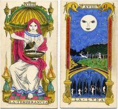 Original Tarot designs in Italian Renaissance style by Oliver Mundy