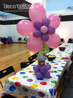 Balloon Centerpices