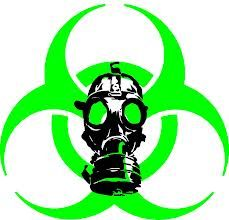 biohazard mask sign for mad lab bottle project