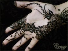 Beautiful Arabic Henna Designs