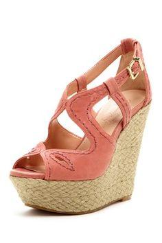 Stevania Wedge Sandal on HauteLook $49.00