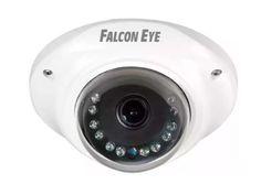 """Купольная камера Falcon Eye FE-SDA720AHD/10M FE-SDA720AHD/10M Купольная цветная AHD видеокамера со встроенным микрофоном Falcon Eye FE-SDA720AHD/10M выполнена на матрице 1/3"""" SONY IMX225 CMOS. Камера позволяет снимать в разрешении 1280х960 с частотой 25 кадров/сек. Оснащена объективом с фиксированным фокусным расстоянием 3.6мм. Чувствительность камеры 0.01лк. Блок из встроенных ИК-светодиодов позволяет снимать в тёмное время суток на растоянии до 10м. Питание камеры осуществляется постоянным…"""