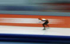 Ireen Wust of the Netherlands won the 3,000-meter race, making the Netherlands 2-for-2 at the Olympic speedskating oval.