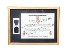 Spouse Medal - Framed
