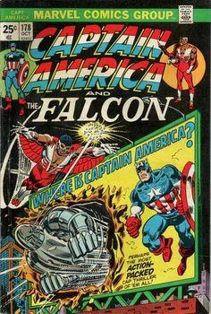 Captain America and the Falcon #178.
