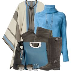 """""""Cashmere Cape"""" by brendariley-1 on Polyvore"""