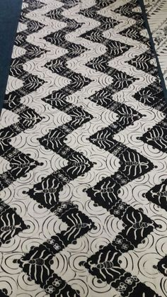 black and white batik #batik #patern #indonesia #fabric #art