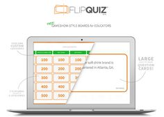 FlipQuiz....A Gameshow-Style Site That Will Bring A Lot Of Fun & Learning To Our Libraries & Classrooms