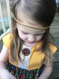 Boho toddler headband