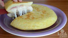 Perfect! Voor deze simpele aardappeltortilla heb je slechts 5 ingrediënten nodig én hij is zo klaar!