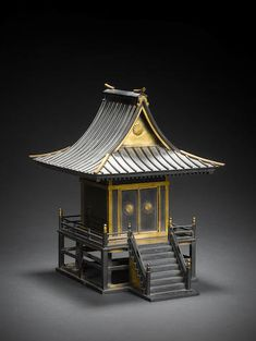 Architecture Concept Drawings, Cathedral Architecture, Japanese Architecture, Historical Architecture, Japanese Shrine, Japanese House, Japanese Art, Small Projects Ideas, Japanese Buildings