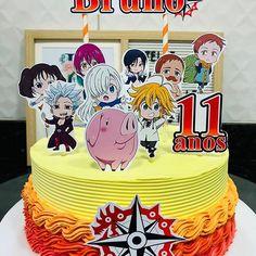Naruto Birthday, Teen Birthday, Birthday Cake, Kawaii Games, Anime Cake, Food Carving, Party Buffet, Dream Cake, Cute Food