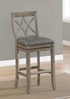 The unprecedented Arianna Barstool is certainly a piece that will turn heads, and may even leave those who see it with a touch of envy.  Impressive and offering uncommon craftsmanship, the Arianna touts a beautifully contoured open back with a majestic modified diamond trellis motif for good measure.