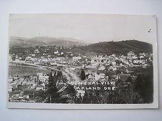 aerial view Oakland Oregon